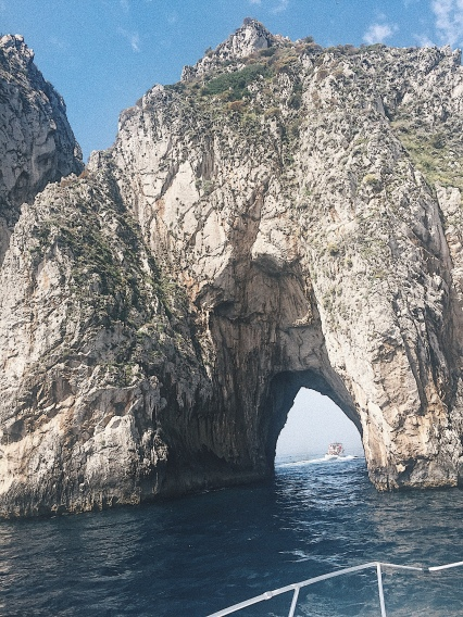 The biggest natural archway