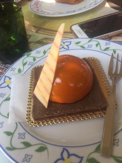 Chocolae orange mousse