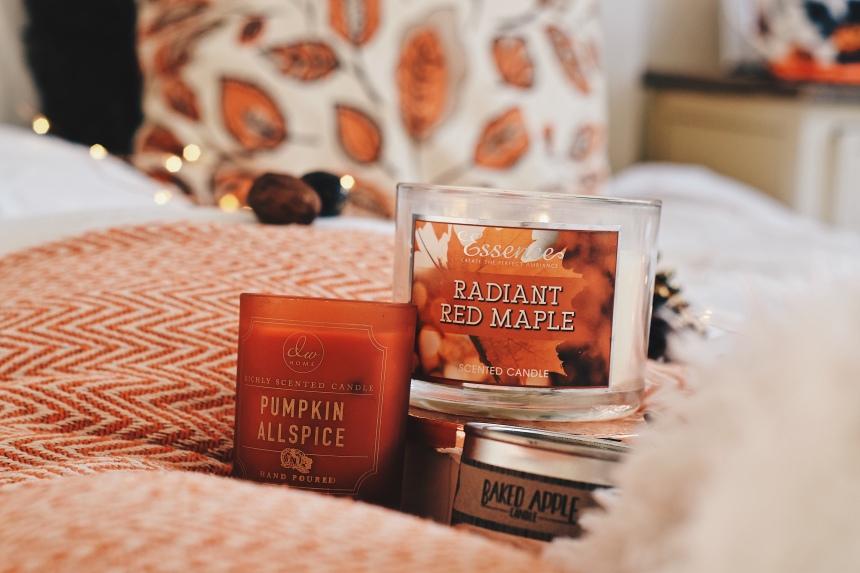 Znalezione obrazy dla zapytania autumn candle bedroom